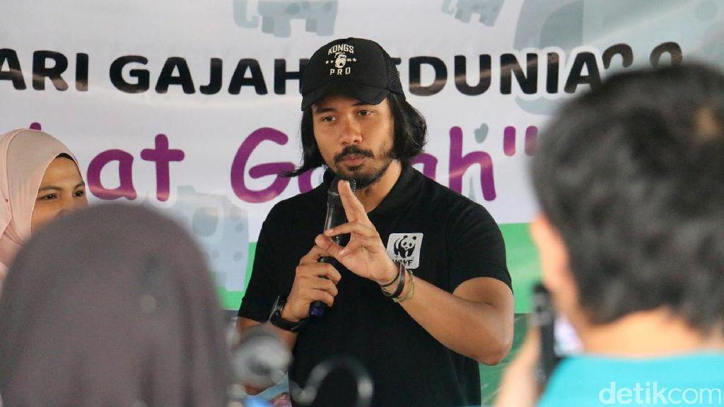 Chicco Jerikho Ajak Anak-anak Aceh Selamatkan Gajah