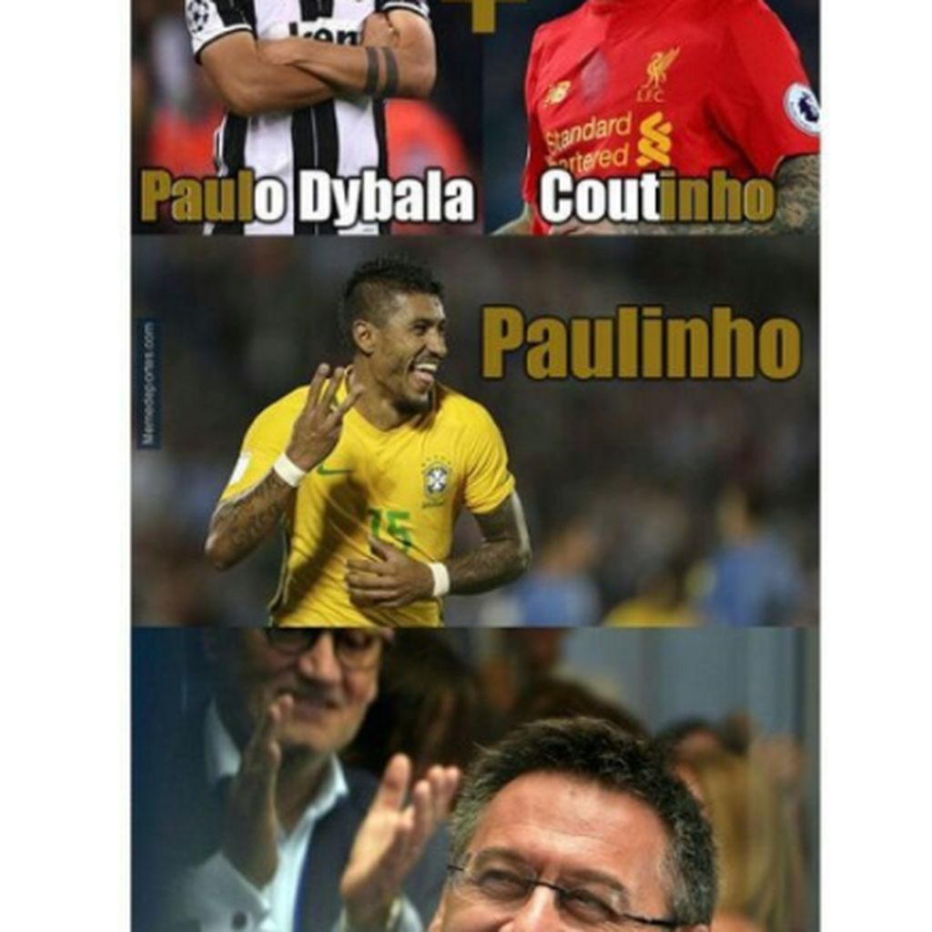 Beli Mahal Paulinho, Barcelona Jadi Guyonan Netizen