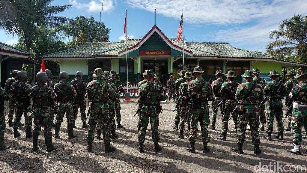 Foto: Ingat Tahajud di Perbatasan Indonesia-Malaysia