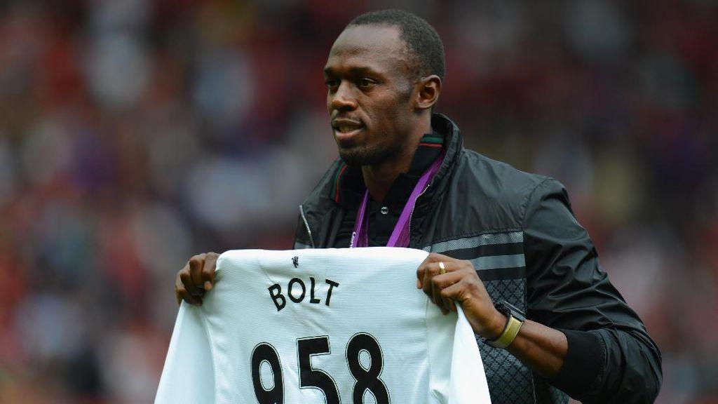 Usain Bolt Akan Perkuat MU Hadapi Barcelona