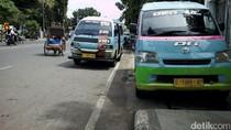 Tolak Transportasi Online, Angkot di Cirebon Masih Mogok Massal