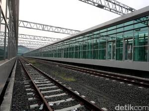 Foto: Kereta Bandara Soekarno-Hatta Akan Beroperasi November 2017