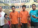 2 Spesialis Pembobol Jok Motor di Medan Dibekuk Polisi