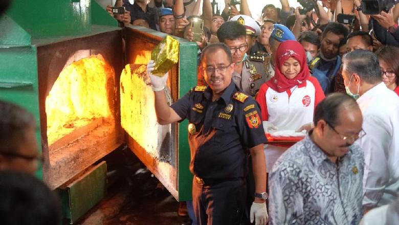 Pemusnahan 1,4 Ton Sabu, Bea Cukai: Aparat Sinergi Mengawasi