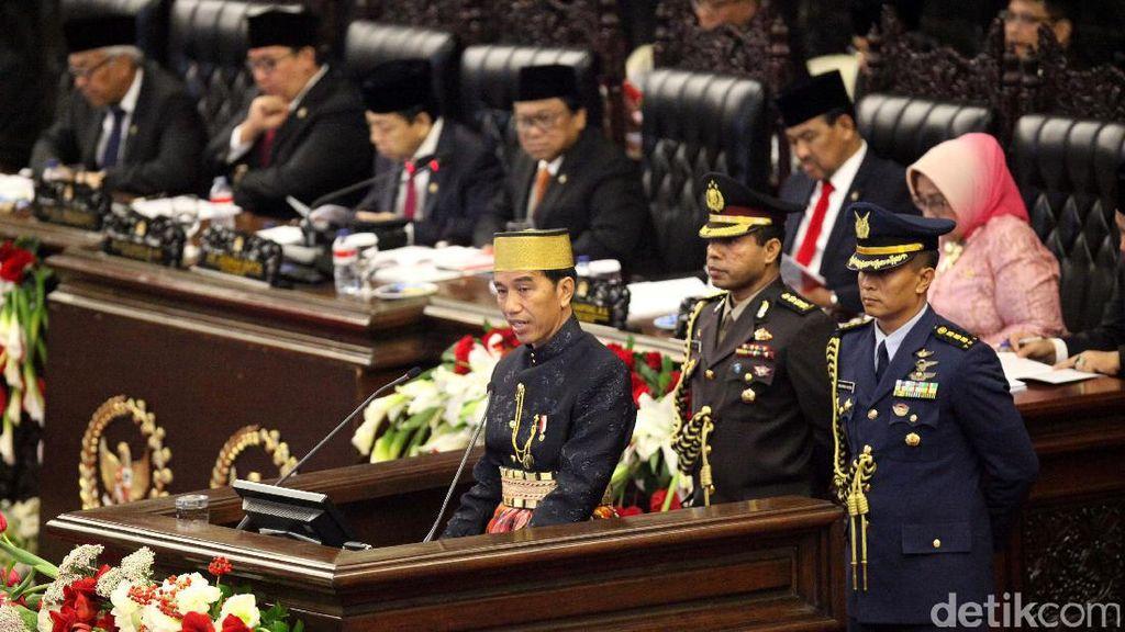 Di Depan DPR Jokowi Beberkan Keberhasilan Tax Amnesty
