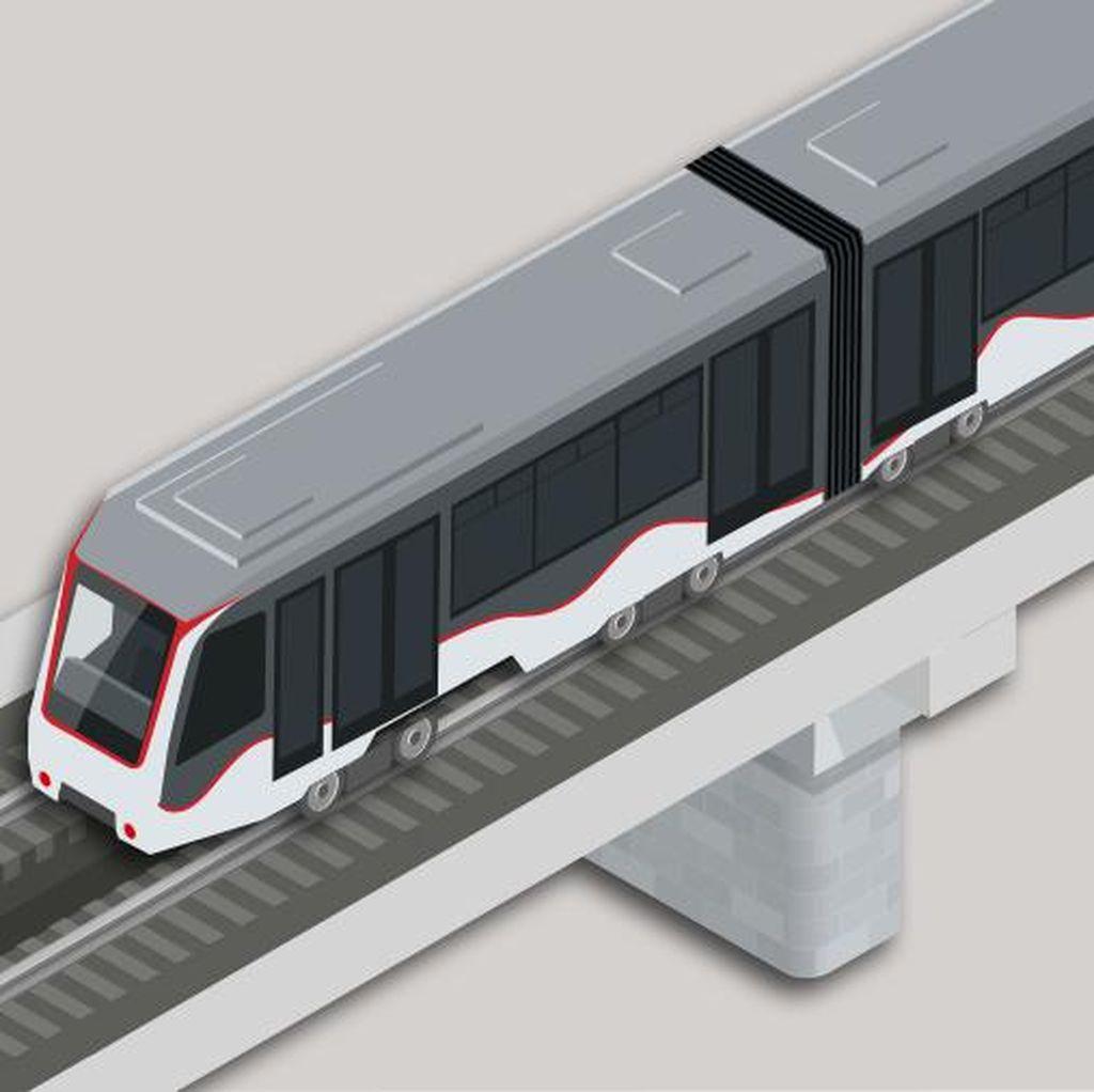 Skytrain, Penghubung Terminal di Bandara Soekarno-Hatta