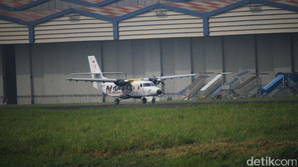 Uji Terbang Sukses, N219 Mendarat Mulus di Bandung