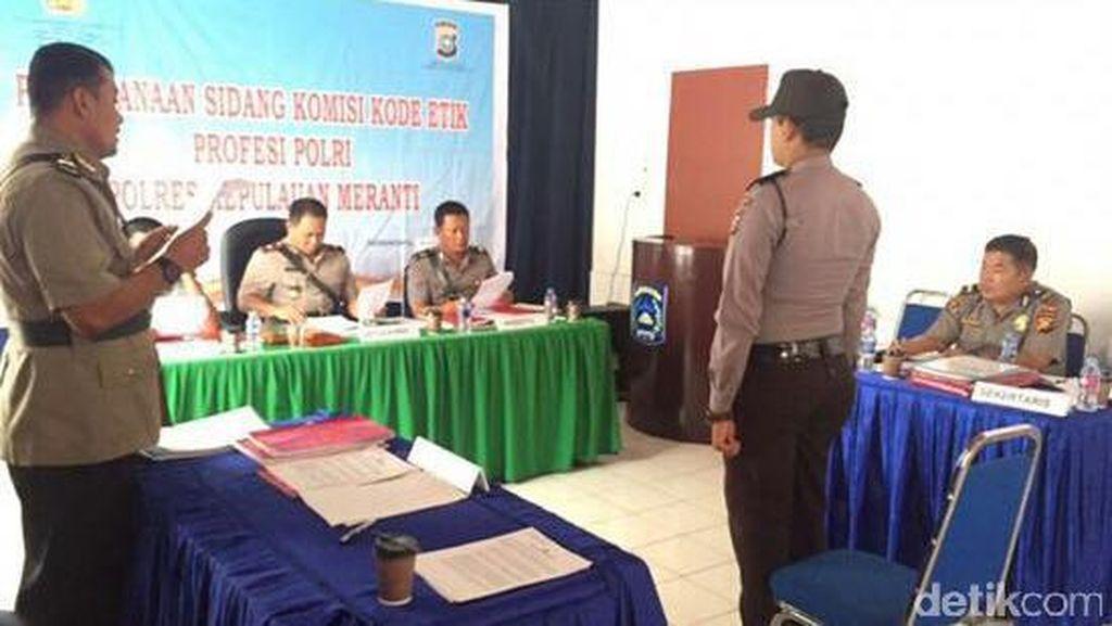 Terlibat Sabu hingga Bolos, 4 Polisi di Riau Terancam Dipecat