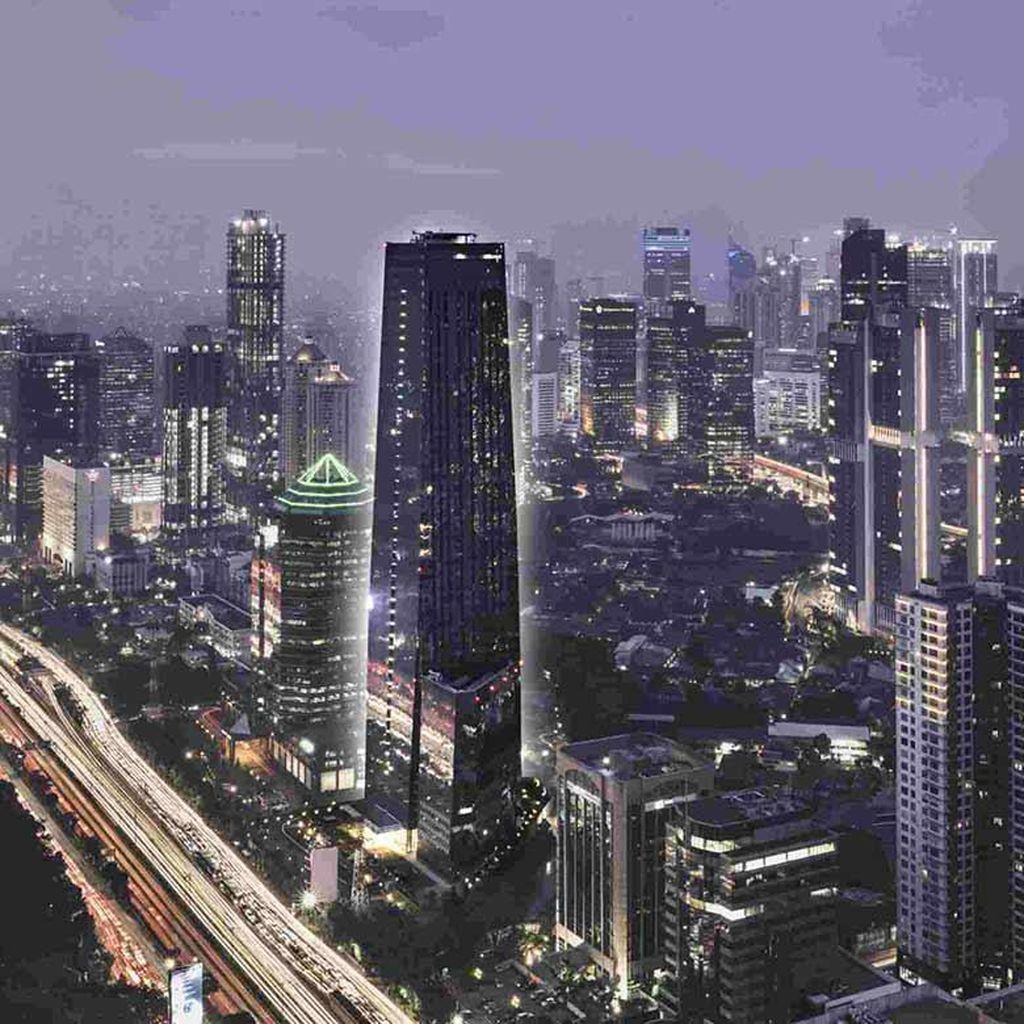 The Tower, Gedung Perkantoran Ikonik 50 Lantai di Pusat Bisnis Jakarta