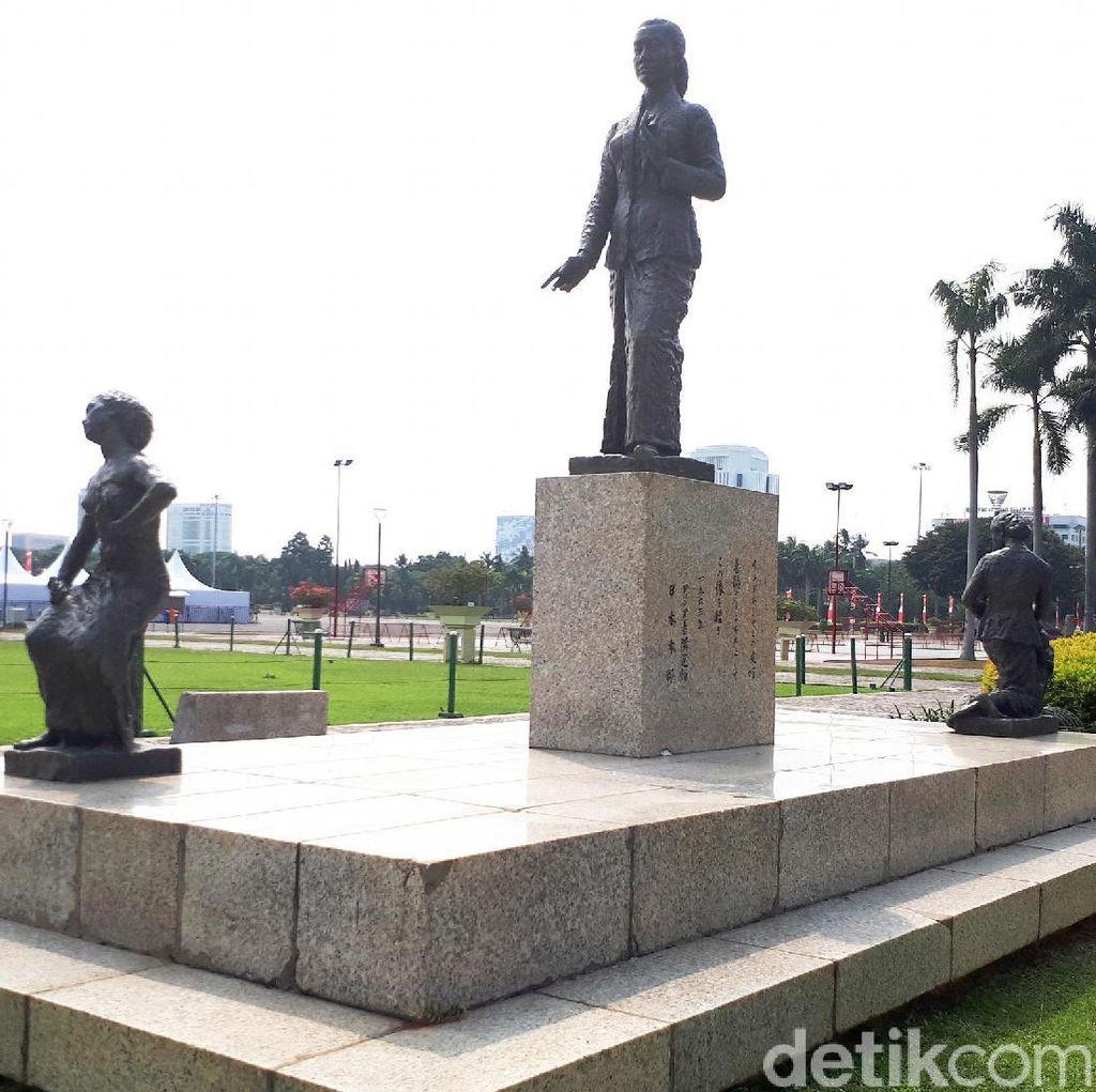 Patung RA Kartini di Monas yang Mendadak Heboh