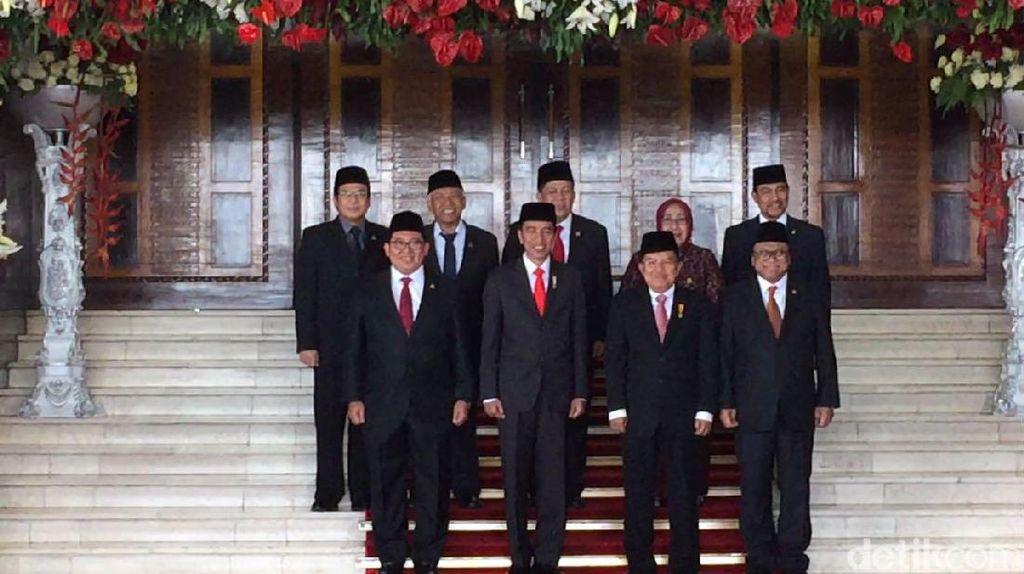 Foto: Jokowi Hadiri Paripurna DPR, Novanto Absen