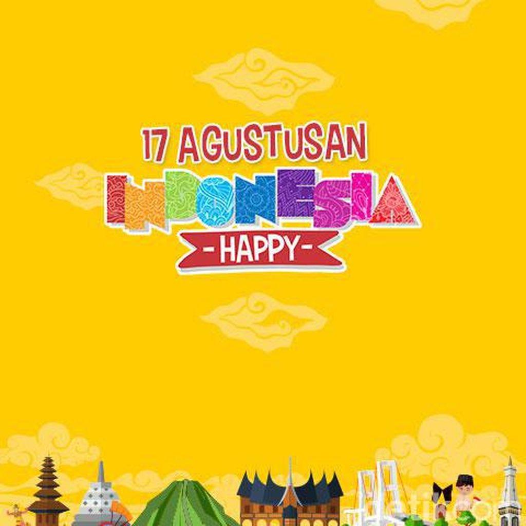 Bersama detikcom Menuju Indonesia Happy
