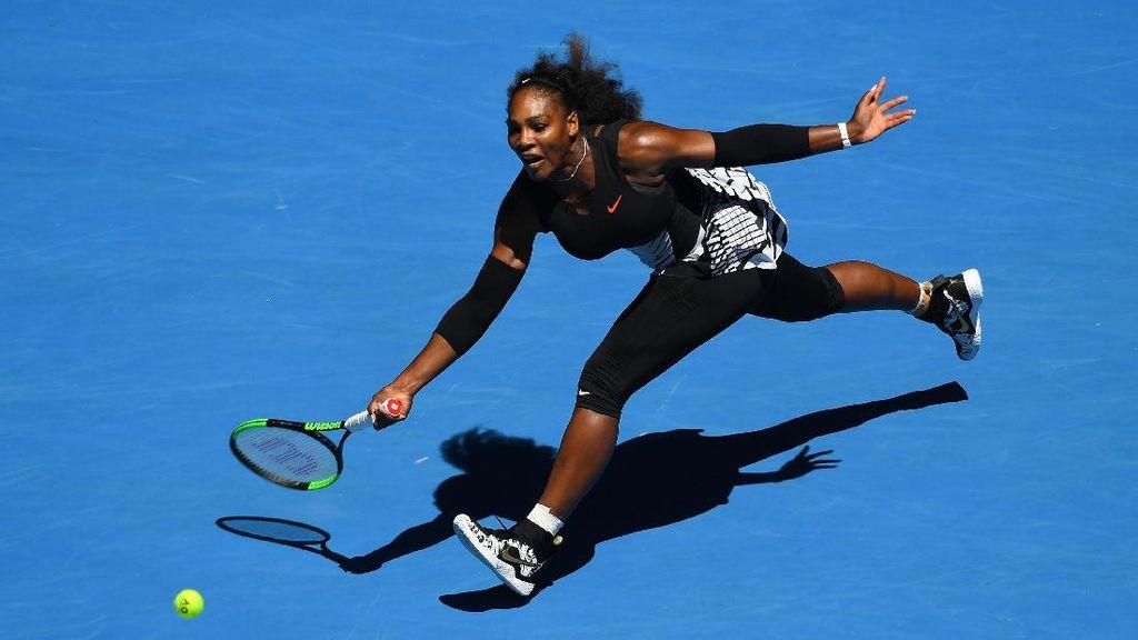 Serena Usung Misi Comeback di Australia Terbuka 2018