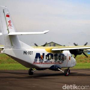Video Pesawat N219 Buatan Anak Bangsa Mengudara di Langit Bandung