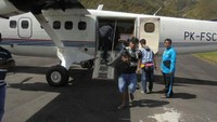 Diangkut Pesawat, Semen Rp 500.000/Sak Tiba di Puncak Jaya