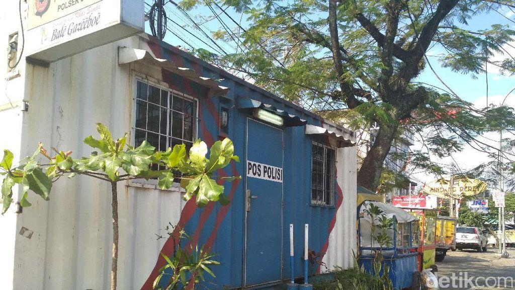 Usut Pelaku Teror Selebaran Ancaman di Pos Gatur, Polisi Cek CCTV