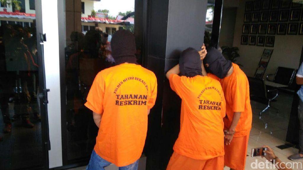 Polisi Tangkap Pencuri Motor CBR di Bekasi