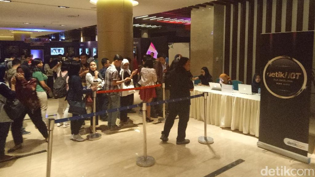 Suasana Venue Indonesia Happy Mulai Dipadati Penonton