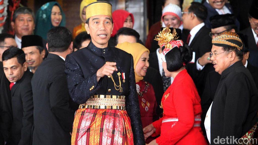 Jokowi di DPR: 2015-2016, Jalan 7.000 Km Berhasil Dibangun