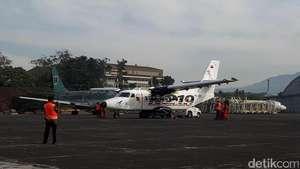 Uji Terbang N219 Buatan Bandung