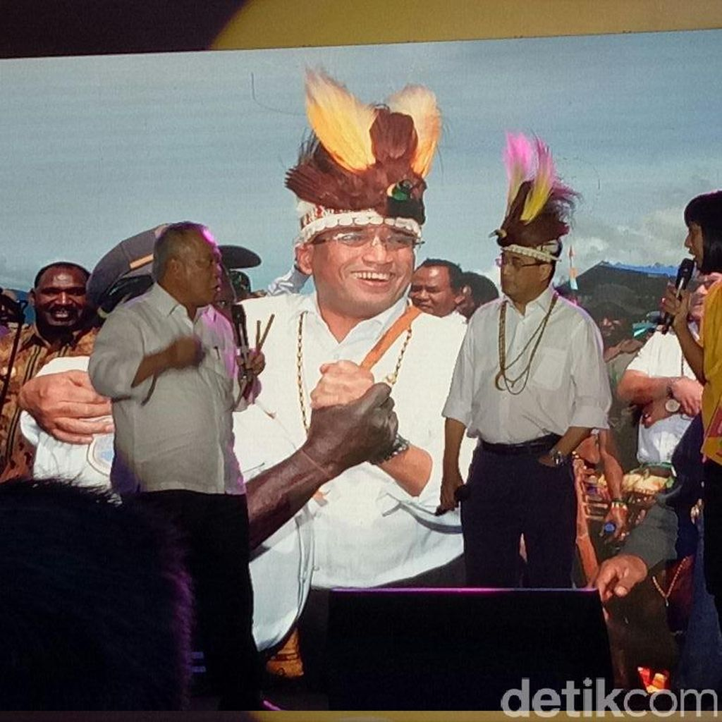 Penuh Tawa, Begini Aksi Menteri Basuki dan Budi di Indonesia Happy