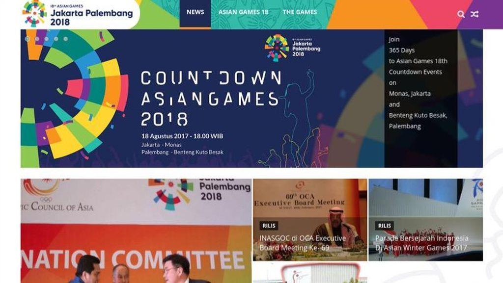 Asian Games 2018 Akhirnya Punya Situs Juga