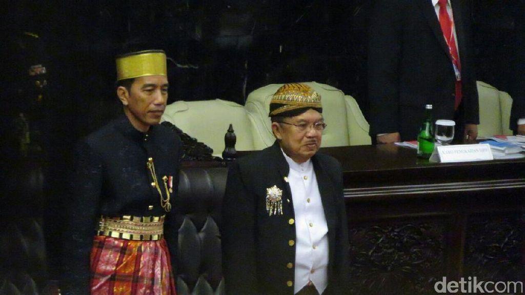 Di Sidang DPR, Jokowi Ungkap Alasan Gencar Bangun Infrastruktur