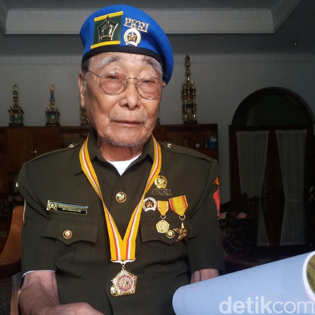 Mengunjungi Veteran Tionghoa di Banjarnegara, Soegeng Budhiarto