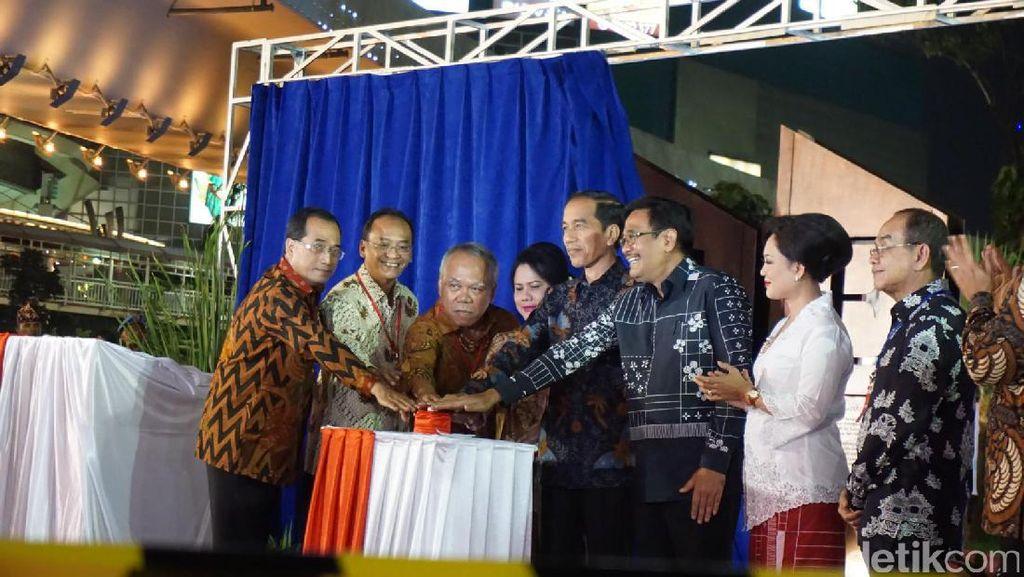 Foto: Simpang Susun Semanggi Diresmikan Presiden Jokowi