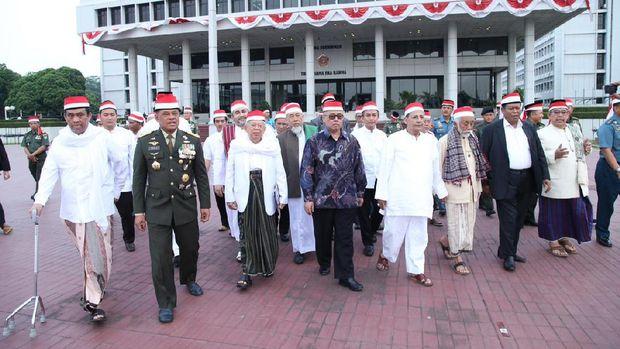 Doa bersama 171717 di Mabes TNI