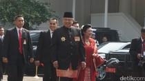 Momen-momen SBY Pertama Kali Upacara HUT RI di Istana Era Jokowi