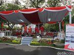 Foto: Musik Krumpyung Sambut Tamu Istana di Hari Kemerdekaan