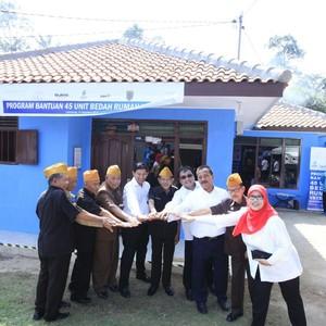 HUT ke-72 RI, 45 Rumah Veteran di Lampung Direnovasi