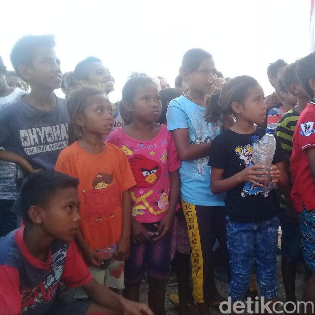 Meriahnya Pesta Kemerdekaan di Perbatasan RI-Timor Leste