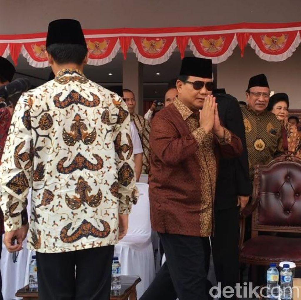 Prabowo Hingga Amien Rais Upacara HUT RI di UBK