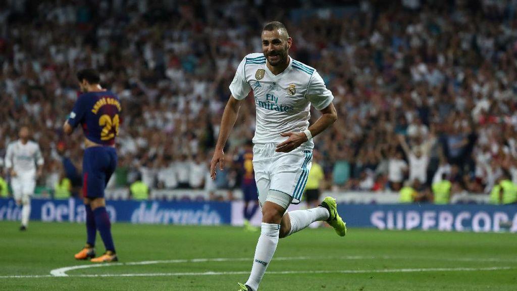 Turun Minum, Madrid Unggul 2-0 atas Barcelona