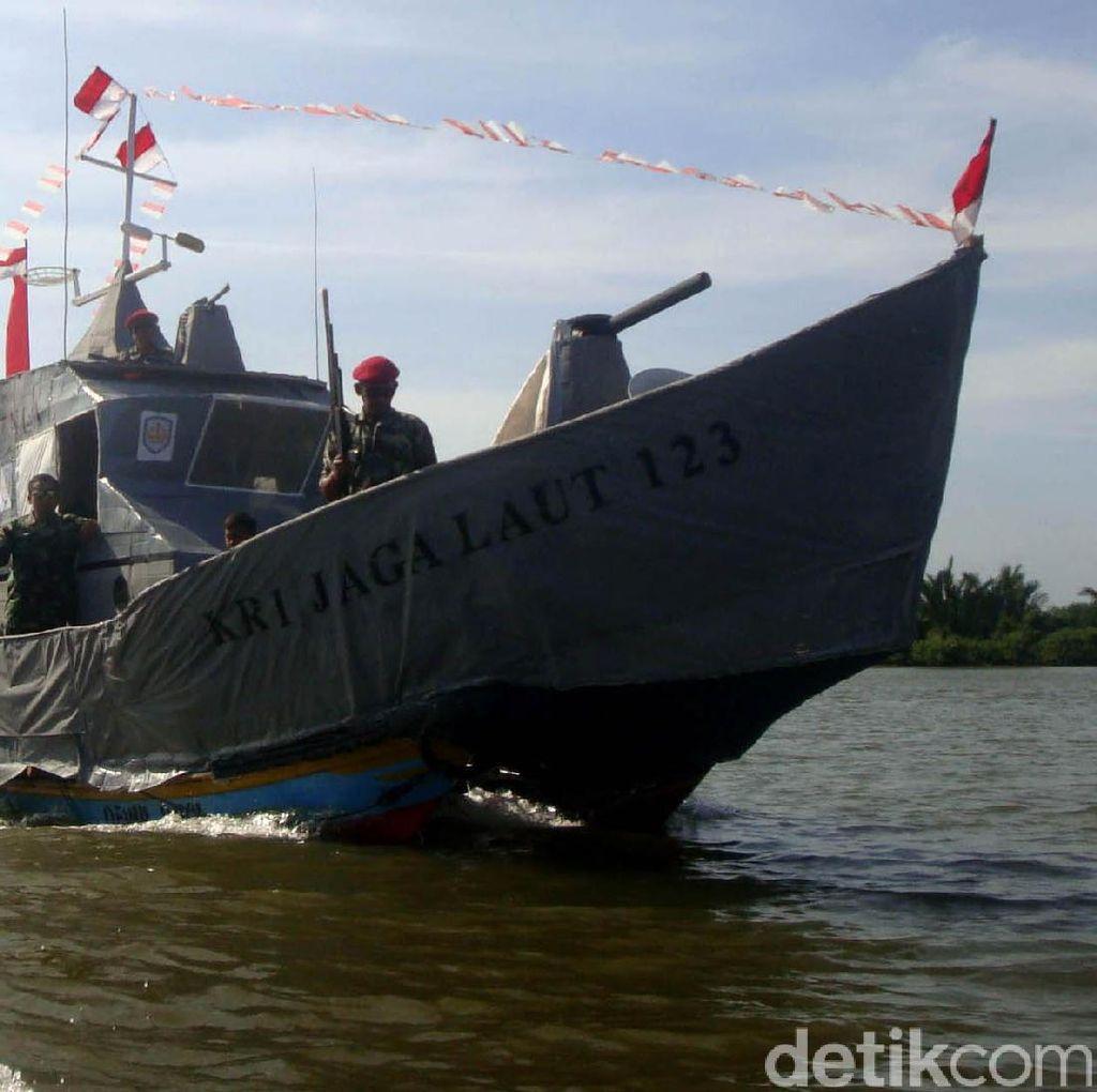 KRI Jaga Laut, Kapal Perang Milik Kampung Laut