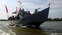 Ini Dia KRI Jaga Laut, Kapal Perang Milik Warga Kampung Laut Cilacap