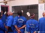 Puluhan Tahanan Polres Brebes Semangat Ikuti Lomba 17 Agustus