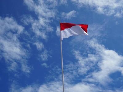 Saat Sang Saka Merah Putih Berkibar di Maluku Utara