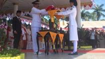 Pimpin Upacara HUT RI, Gubernur Sumut: Jangan Mau Diadu Domba