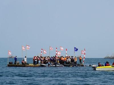 Merdeka! Upacara Bendera Sukses Digelar di Bawah Laut Selat Sunda