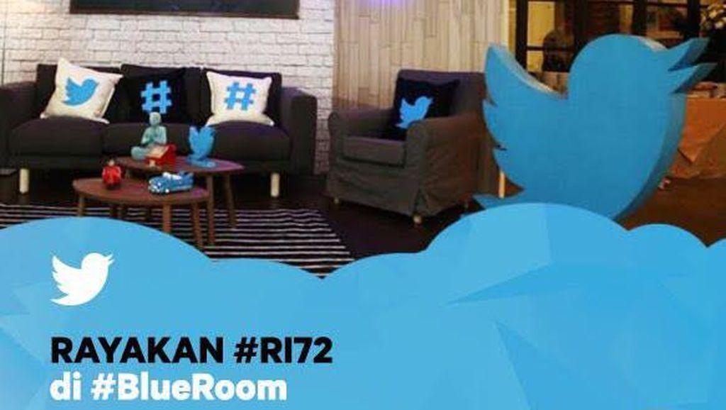 #BlueRoom Twitter #RI72: Muda, Merdeka, dan Kreatif