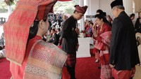 SBY ke Jokowi di Istana: Aku Senang Sekali