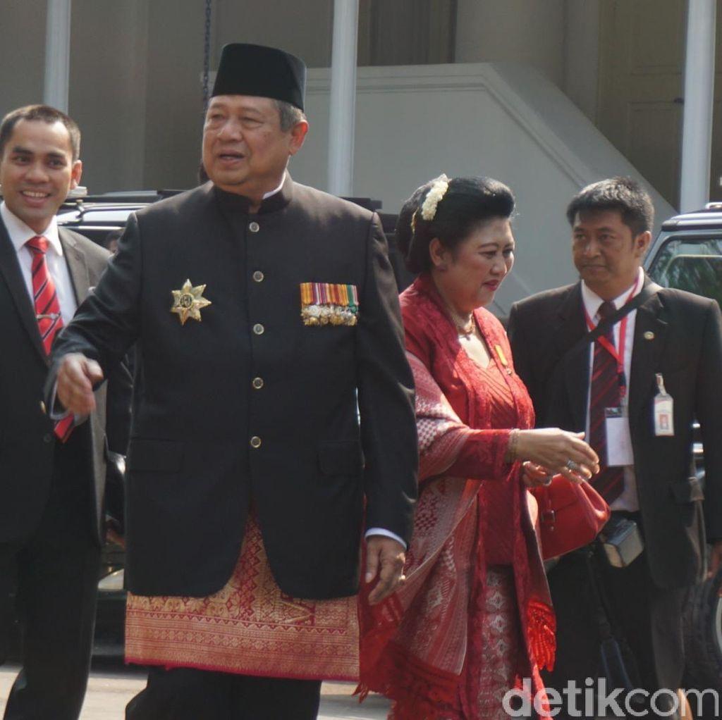 SBY dan Bu Ani Hadiri Perayaan HUT RI di Istana