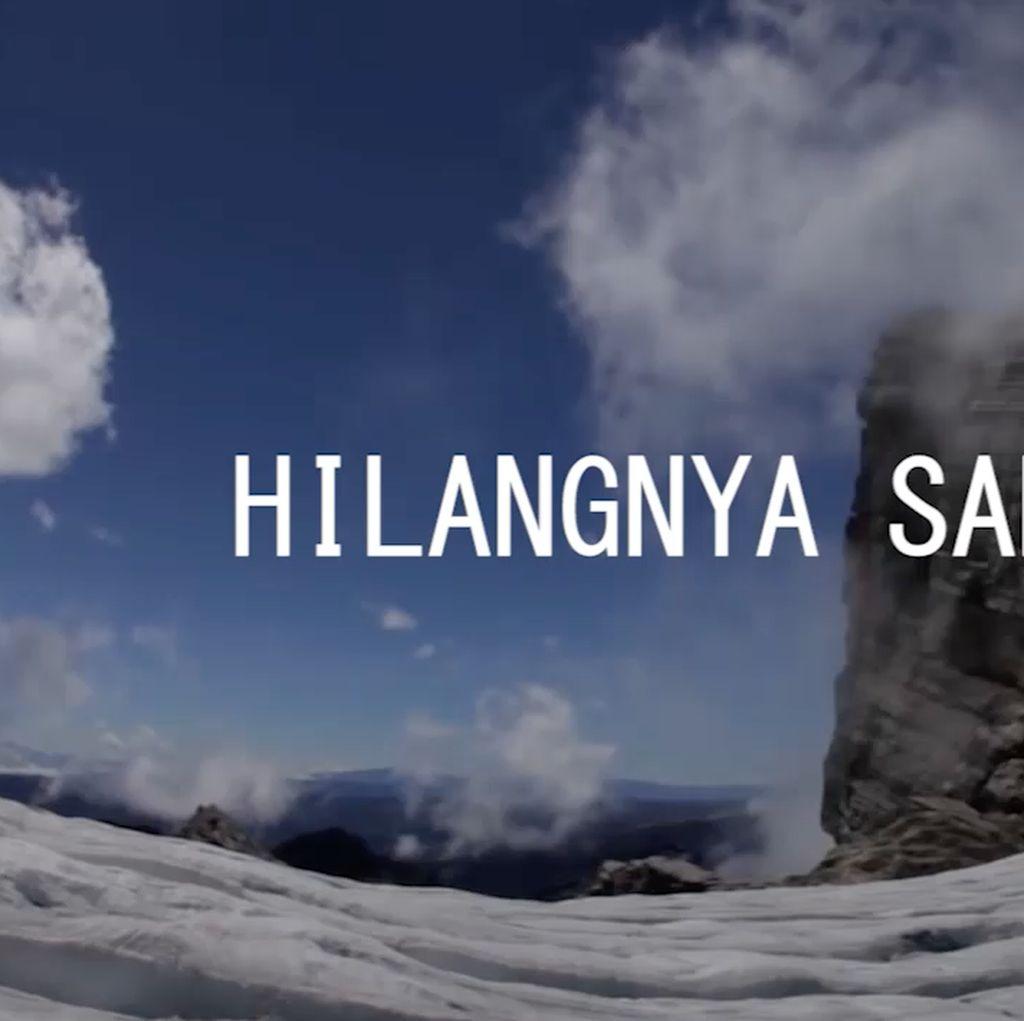 Salju Abadi di Pegunungan Jaya Wijaya Terdampak Pemanasan Global