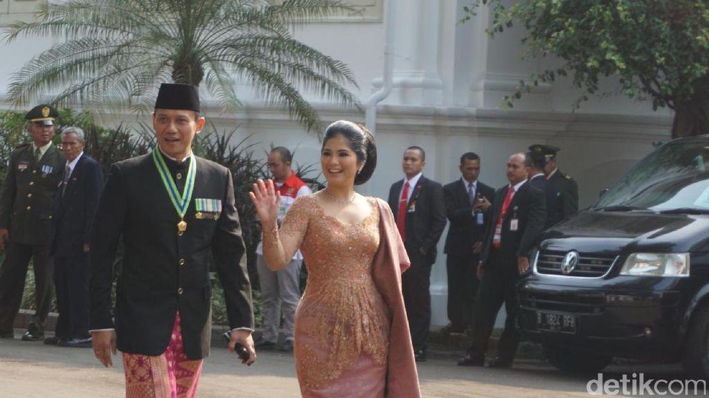 Ikut Upacara di Istana, AHY: Bapak SBY Insyaallah Datang