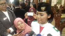 Ditunjuk 1 Jam Sebelum Upacara, Fariza Deg-degan Bawa Baki Bendera