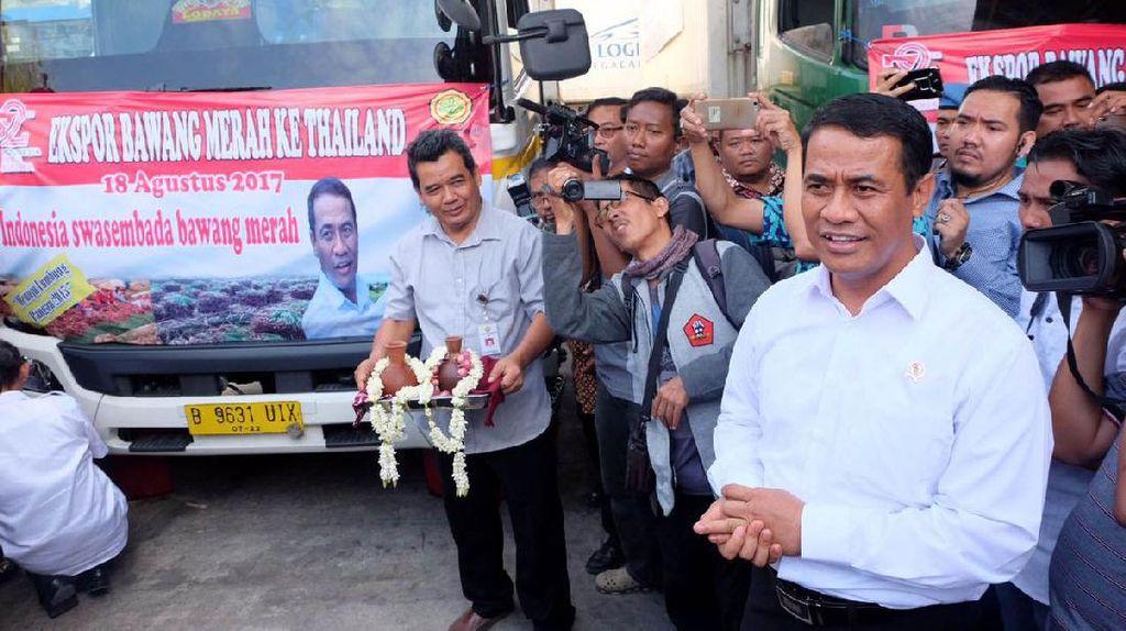 Perjalanan RI Impor Bawang Hingga Akhirnya Ekspor ke Thailand