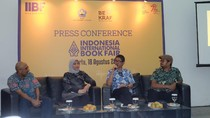 Indonesia International Book Fair 2017 Hadirkan 20 Negara